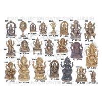 Brass Ganesh Statues 06