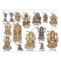 Brass Ganesh Statues 07