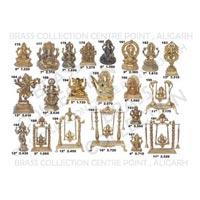 Brass Ganesh Statues 08