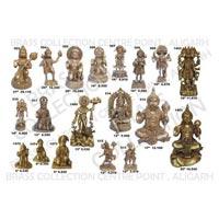 Brass Hanuman Statue 01