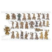 Brass Hanuman Statue 02