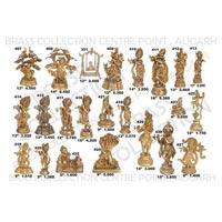 Brass Krishna Statue 01