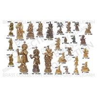 Brass Krishna Statue 03