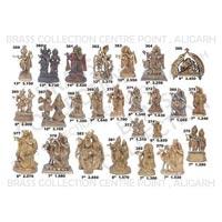 Brass Radha Krishna Statues 02