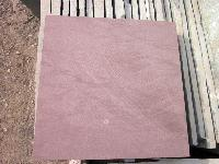 Semi Polished Red Mandana Stone