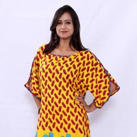 Design No. NTW-513 Yellow Maroon