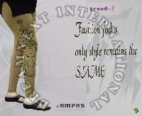 Printed Ankle Legging - Compas