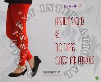 Printed Ankle Legging - Hearty