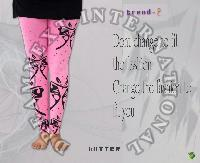Printed Ankle Legging - Butter