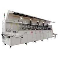 (S275)Automatic multi-color screen printing line
