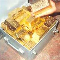 Gold Bars And Nuggets