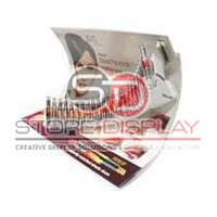 Lipstick Vacuum Form Counter Display Stand