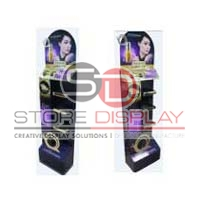 Skin Care Products Floor Display Stand