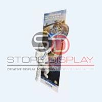 Advertisement Signs Cardboard Display Stand