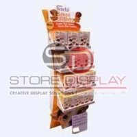Biscuit Cardboard Display Stand