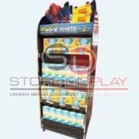 Biscuit Double Side Floor Display Stand