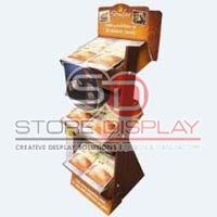 Bread 3 Tray Floor Display Stand