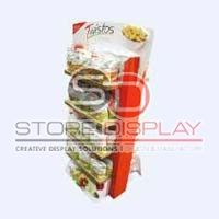Chips 2 Sides Floor Display Stand