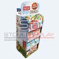 Chips Double Side Floor Display Stand