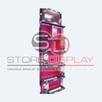 Cosmetic Product Sidekick Cardboard Display Stand