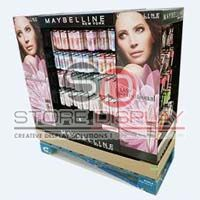 Cosmetic Half Pallet Point Of Sales Display Stand