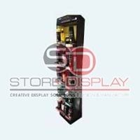 Hair Care Product Sidekick Cardboard Display Stand