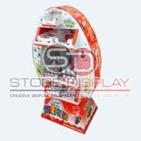 Point Of Purchase Sales Corrugated Display Stand