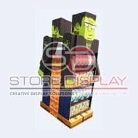 Snacks Quarter Pallet Display Stand