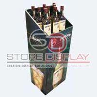 Wine Dump Bin Display Stand