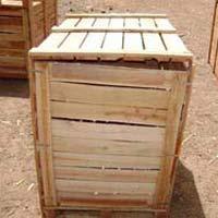 Hardwood Pallet Box