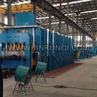 Rubber Conveyor Belt Vulcanizing Machine Xlb-2700*5600 / 4500 Ton