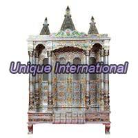 Silver Plated Temple