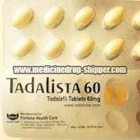 Tadalista 60mg Tablets