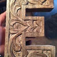 Wooden Alphabet Letters 03