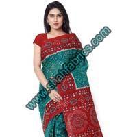 Cotton Bandhej Sarees (BCA 1102)