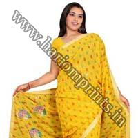 Russian Georgette Sarees
