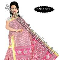 Zari Gadwaal Cotton Saree (1001)