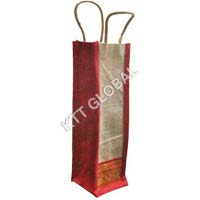 Jute Water Bottle Bag (WB-3034)