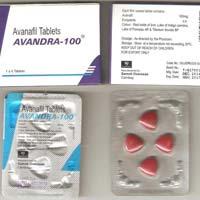 Avanafil 100mg (Stendra)