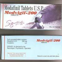 Modafinil 100mg & 200mg (Provigil, Modalert)