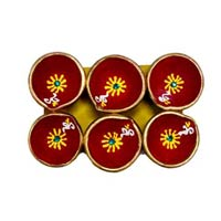 Decorative Diwali Diya 04