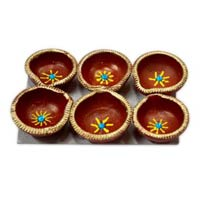 Decorative Diwali Diya 05