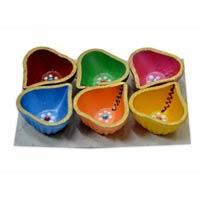 Decorative Diwali Diya 06