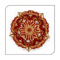 Decorative Earthen Diya
