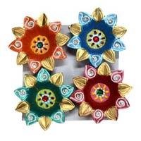 Decorative Kundan Diyas