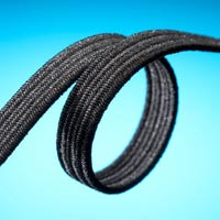 Black Braided Elastic