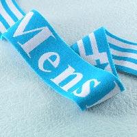 Blue Woven Elastic Tape