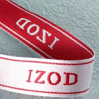 Red Woven Elastic Tape
