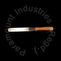 Ointement Spatula Wooden Handle 03