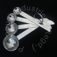 Stainless Steel Measuring Spoon 02